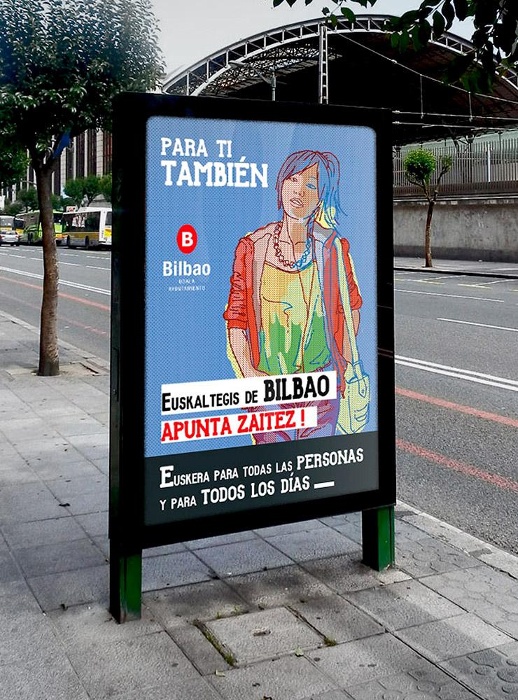 campaña de publicidad realizada por ouidesign