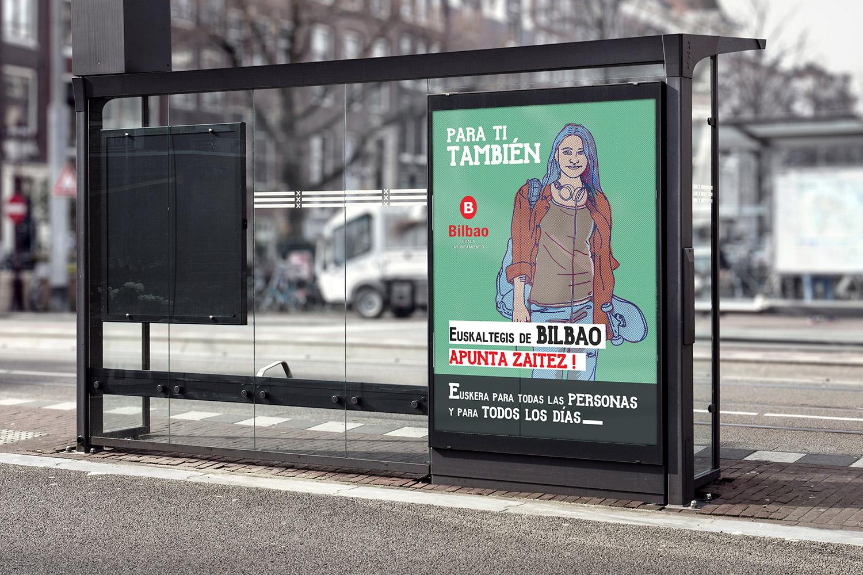 campaña de publicidad realizada por ouidesign: marquesina