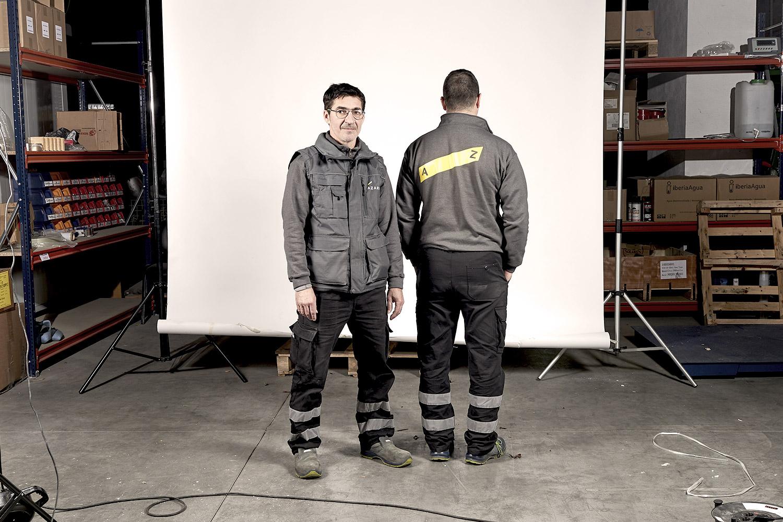 Sesión de fotos uniformes