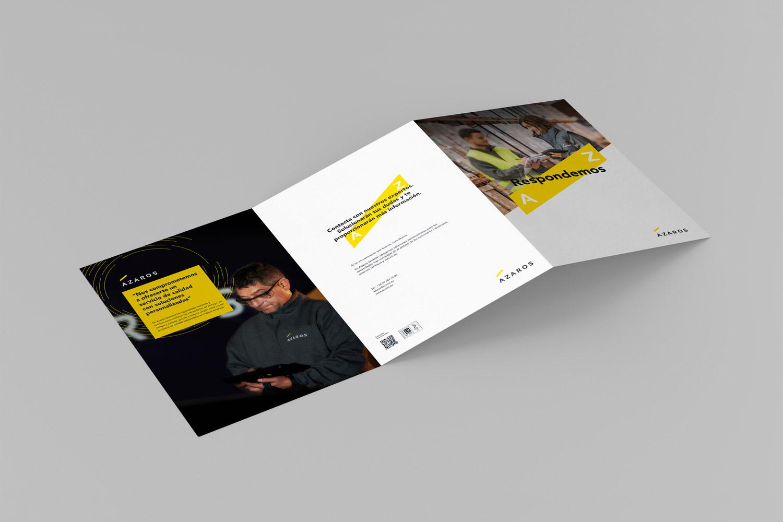 Diseño folleto por Ouidesign
