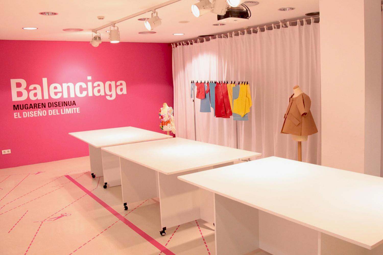 Diseño exposición Balenciaga