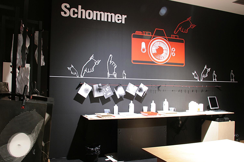 Diseño exposición de Shommer