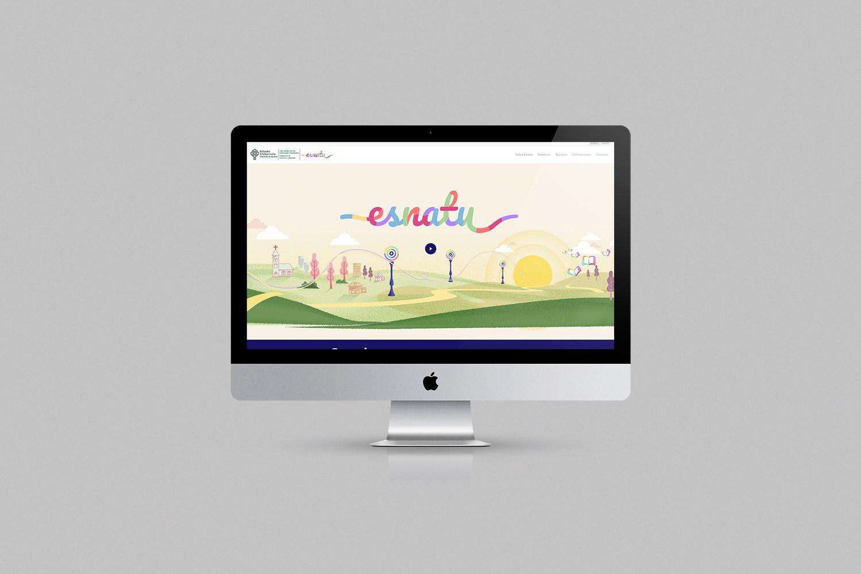 Diseño web Esnatu