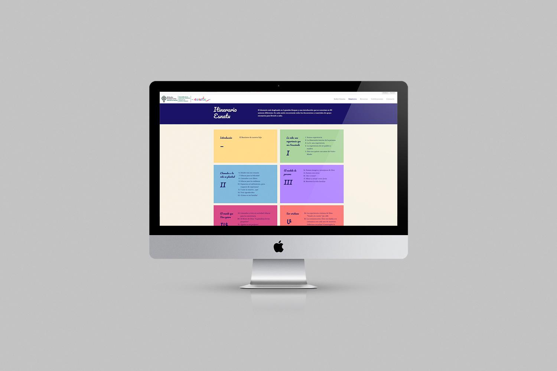 Diseño web para Esnatu