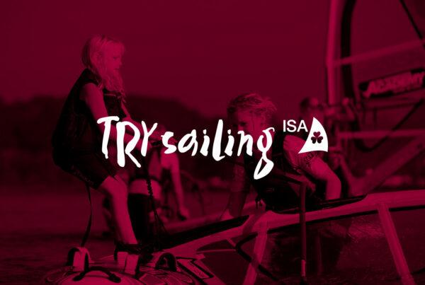 Diseño imagen corporativa Try Sailing