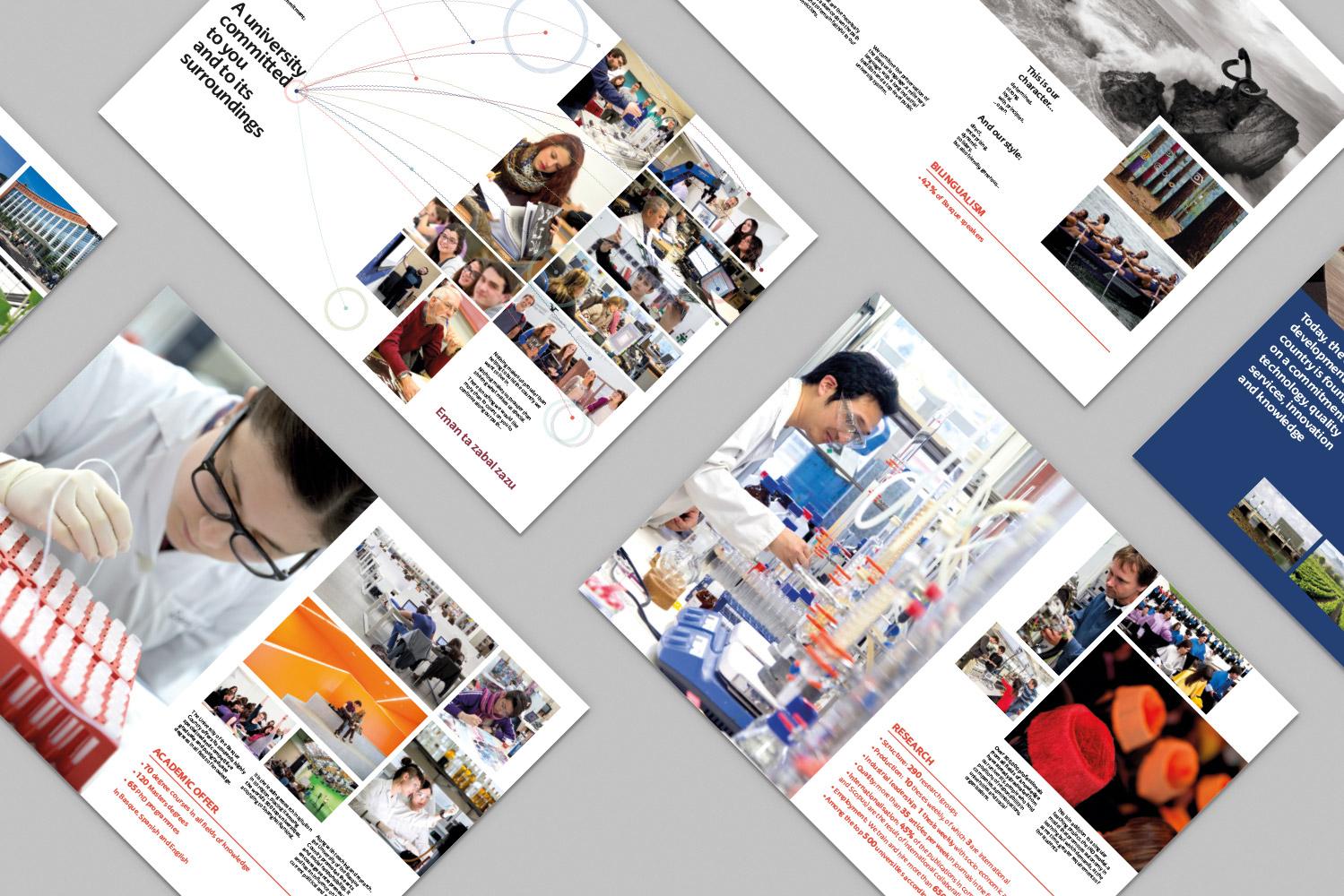 Catálogo corporativo diseñado por Ouidesign