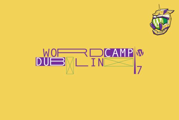 Diseño imagen corporativa WordCamp Dublin